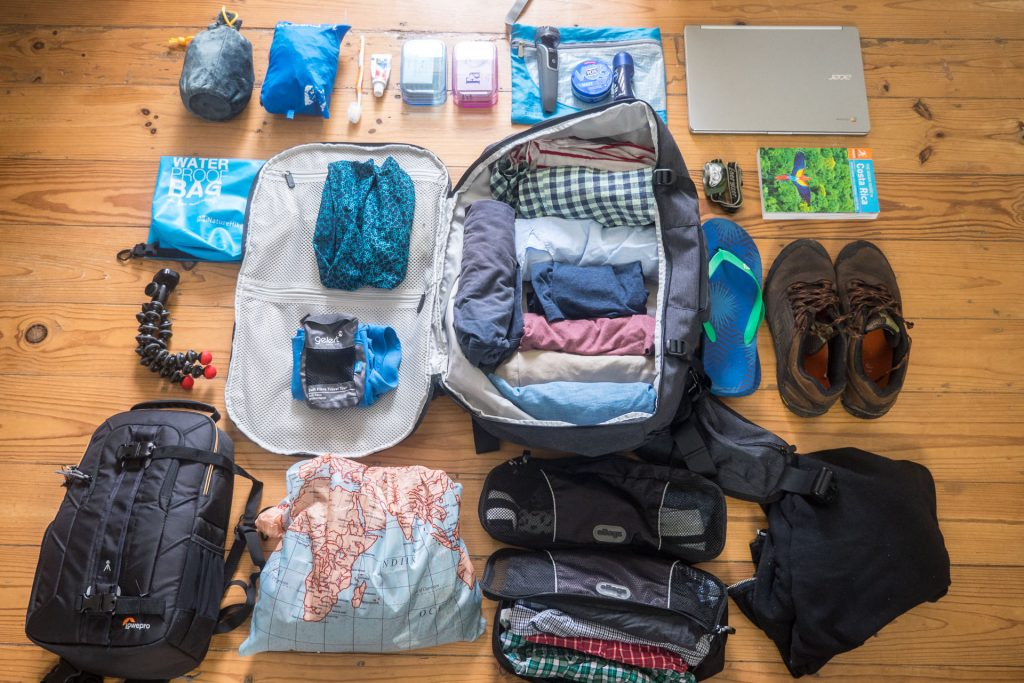 Backpacking Travel Essentials